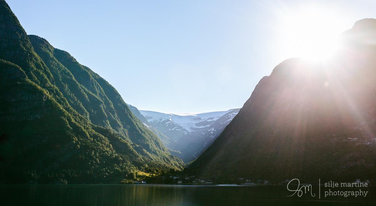 Hardanger fjord, Odda.