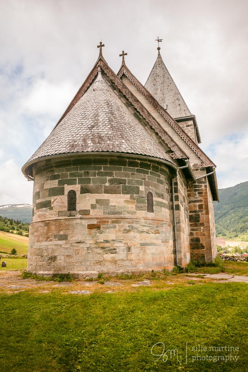 Hove Medieval church in Vik.