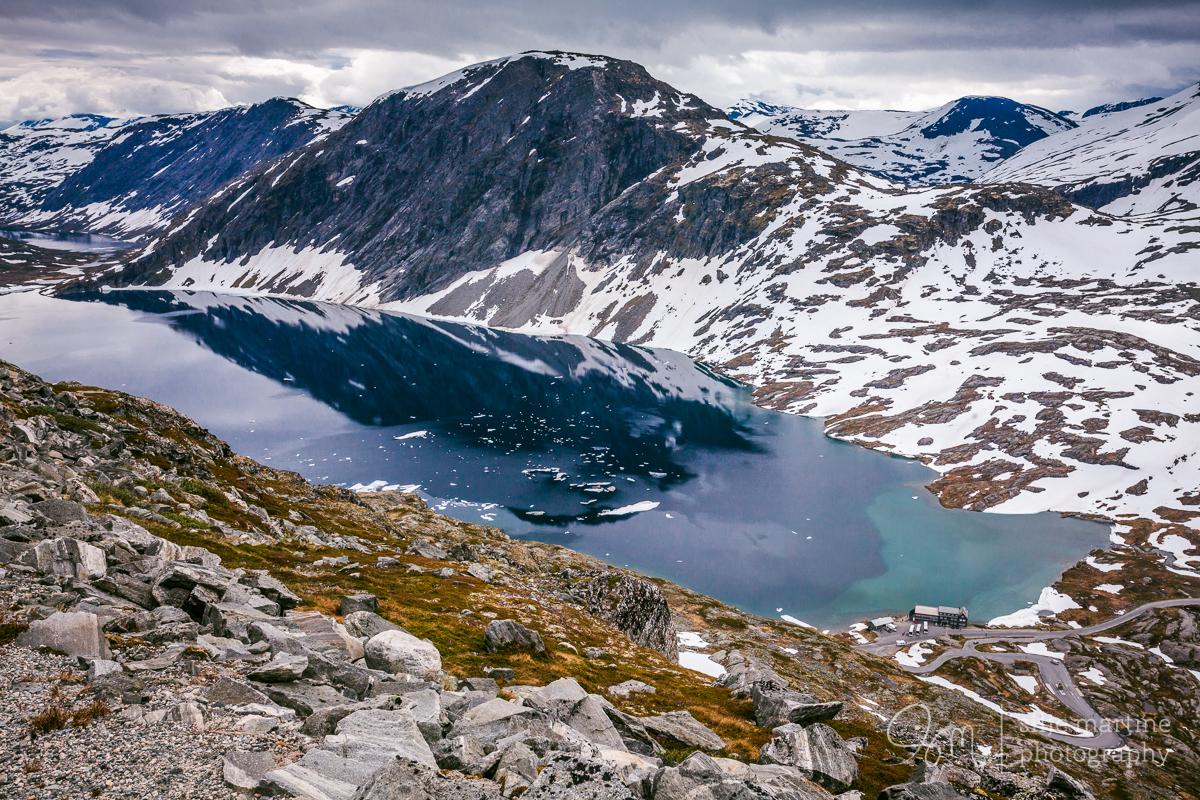 The road to Dalsnibba, Sogn og Fjordane.