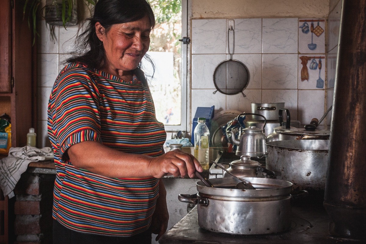 In the Mapuche community, the women are the face of the family. Margarita lives alone with two of her brothers, a 30-40 minute horse ride from the nearest neighbor. All her children have moved out of San Ignacio and started their own lives and families.