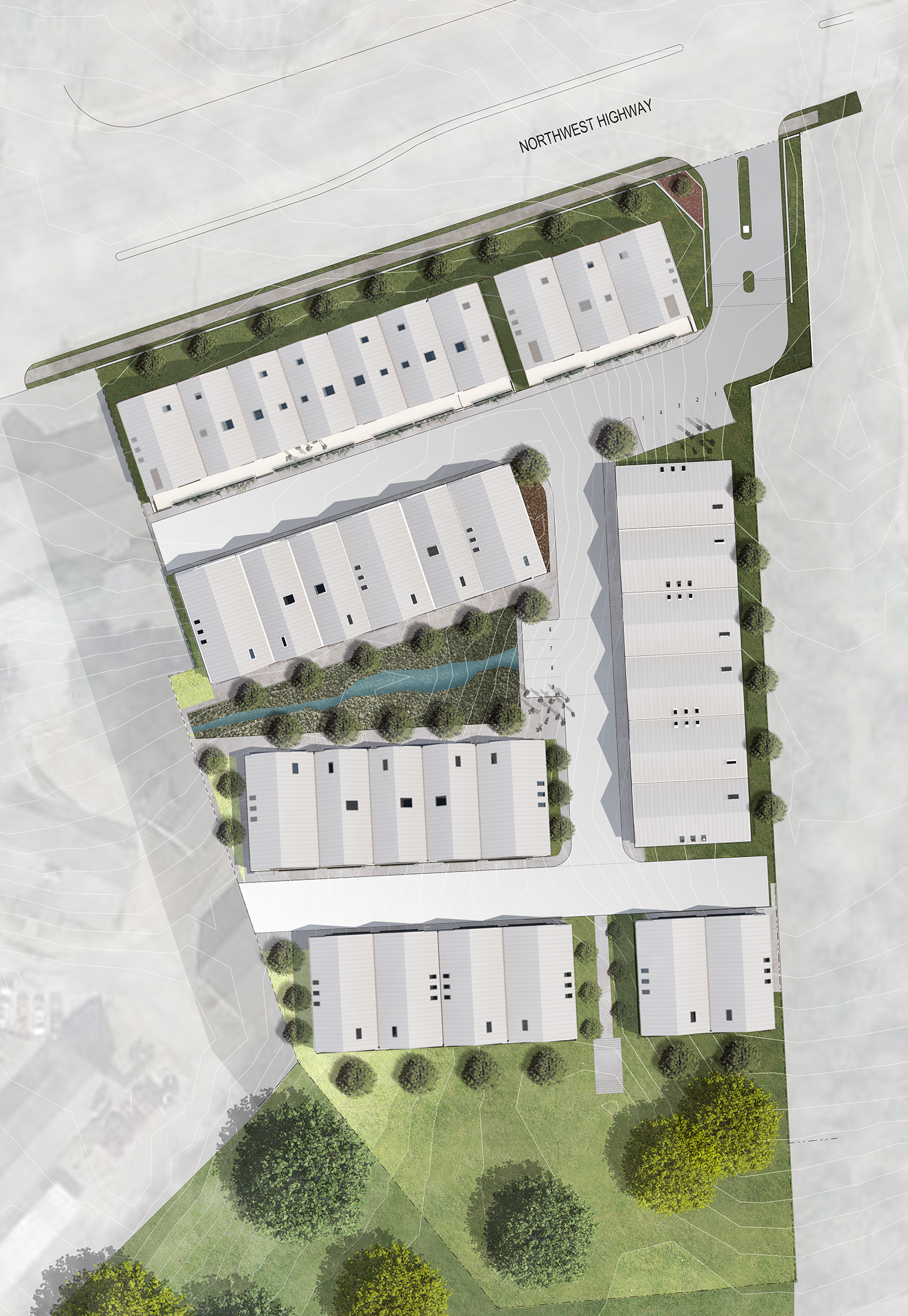 PROJECT DATA    Client:  Centre Living Homes   Status:  Land Development   Features:  33 Units   Material Systems:  -