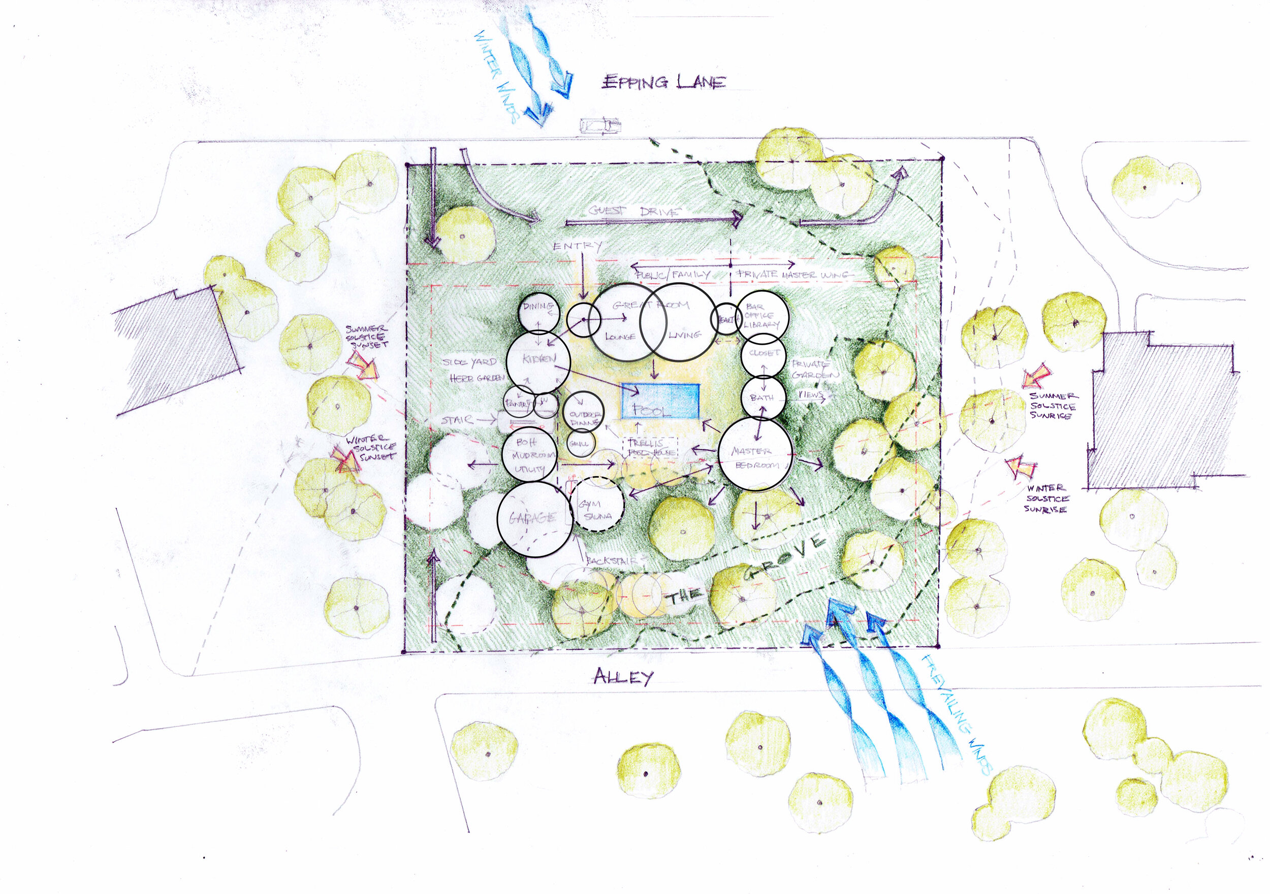 Site Study with Bubble Diagram.jpg