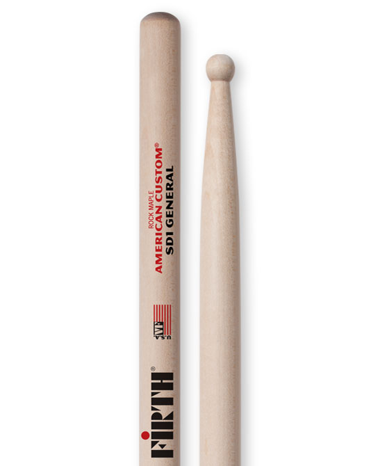 SD1 sticks are great for the concert snare setting!