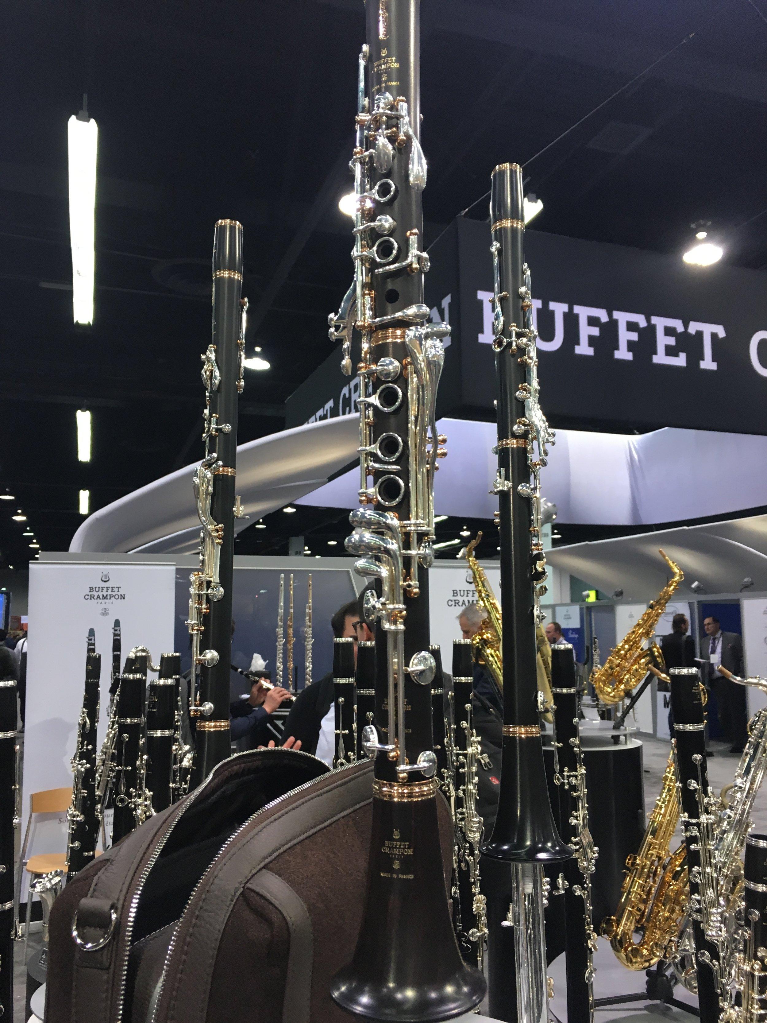 Buffet Clarinet Legende Namm Show 2018.JPG