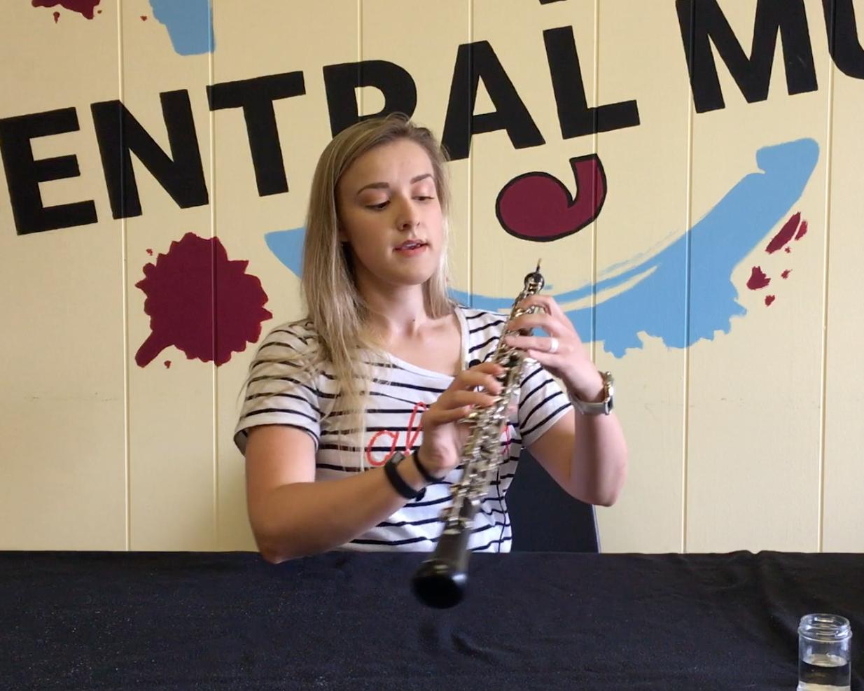 Oboe Lesson