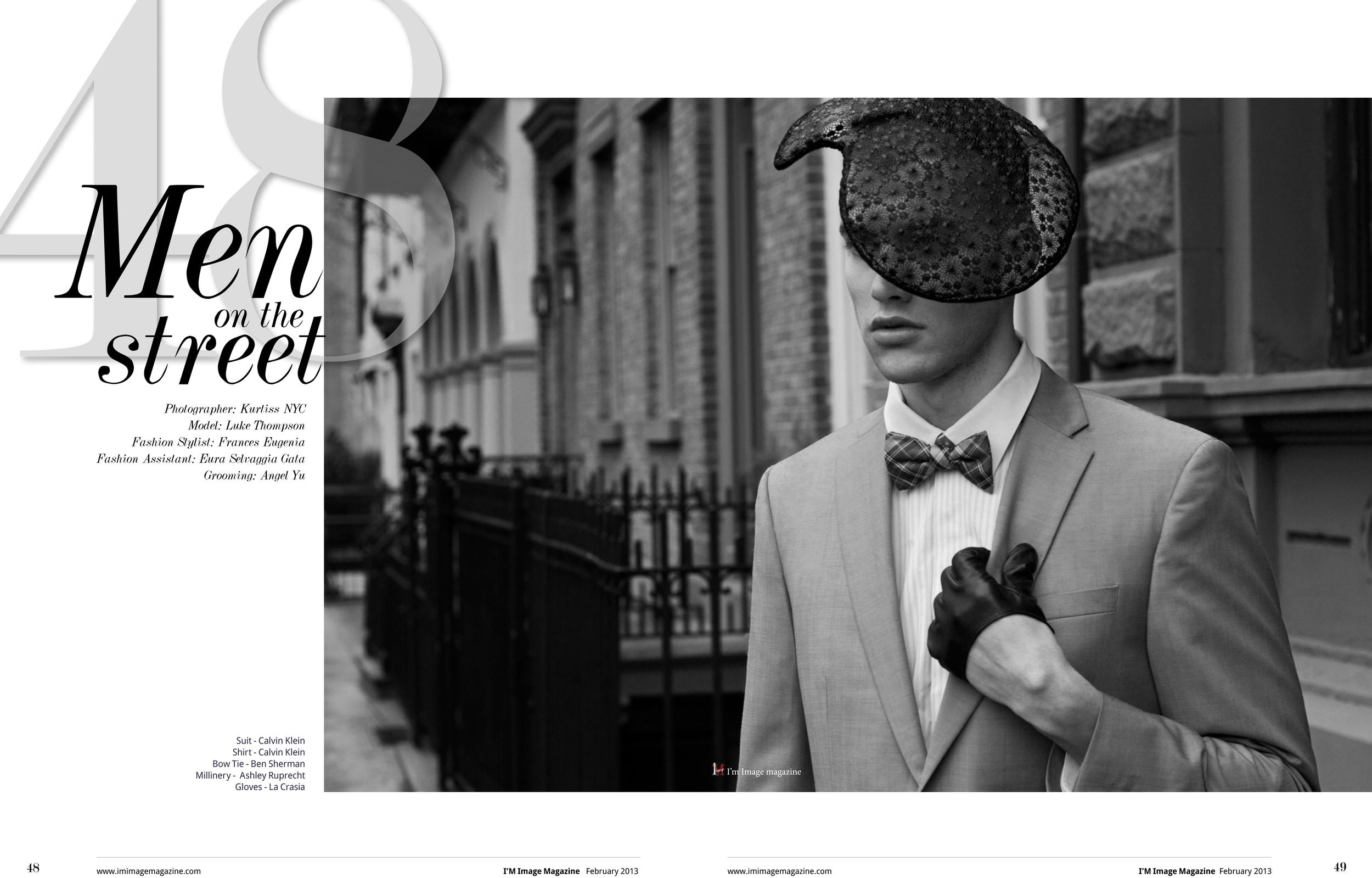 Stylist:Frances Eugenia.   Photography:Kurtiss NY.  Model:Luke Thompson.   Fashion Assistant:Eura Selvaggia.   Grooming:Angel Ya Ting Yu