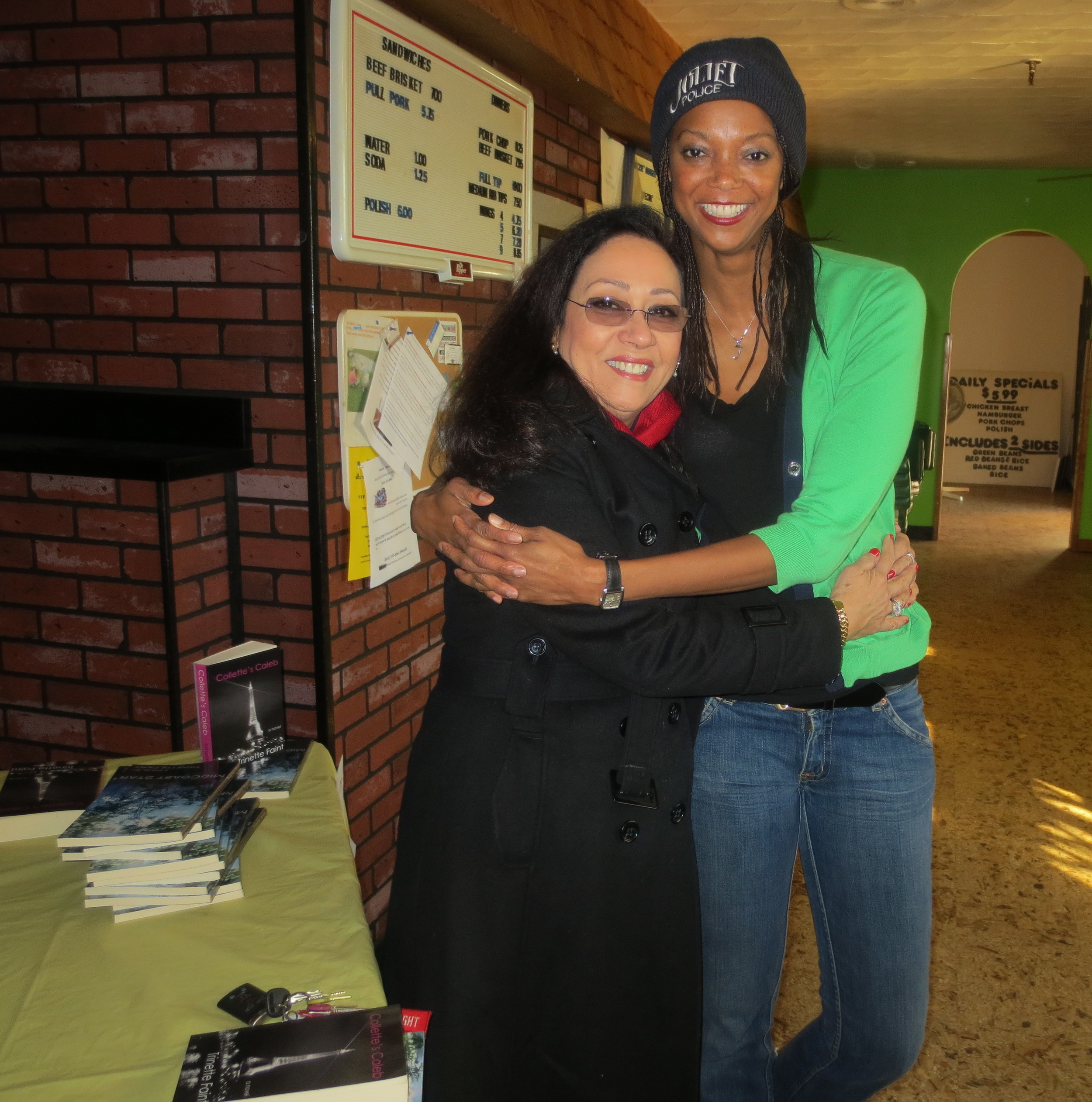 Fashion show producer and writer Mohra Gavankar, who used to hire me for runway shows back in my day, showed her love.