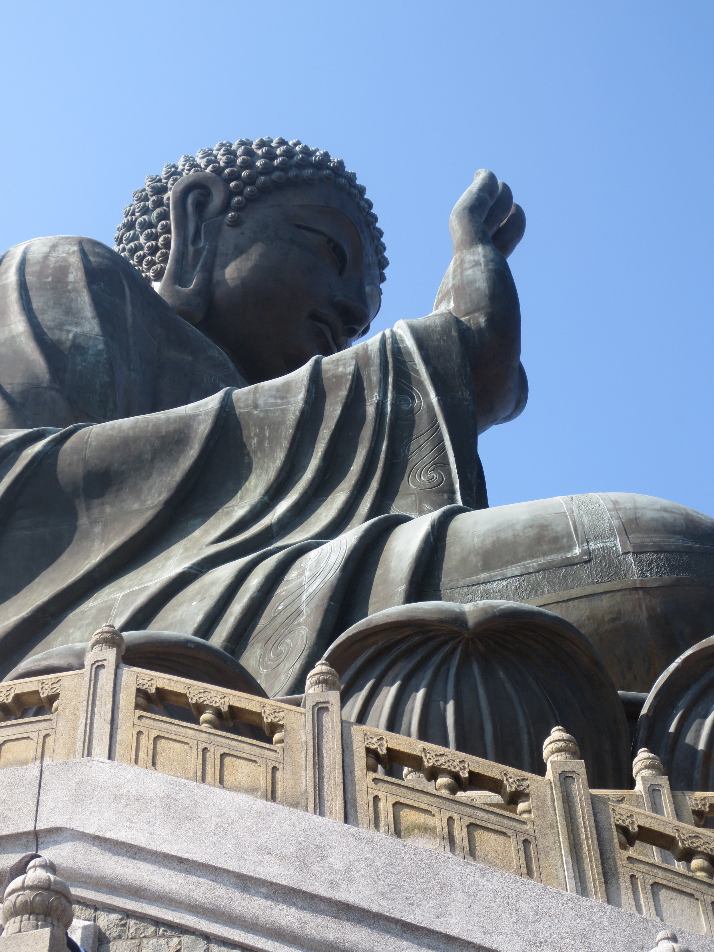 Visiting the Big Buddha.