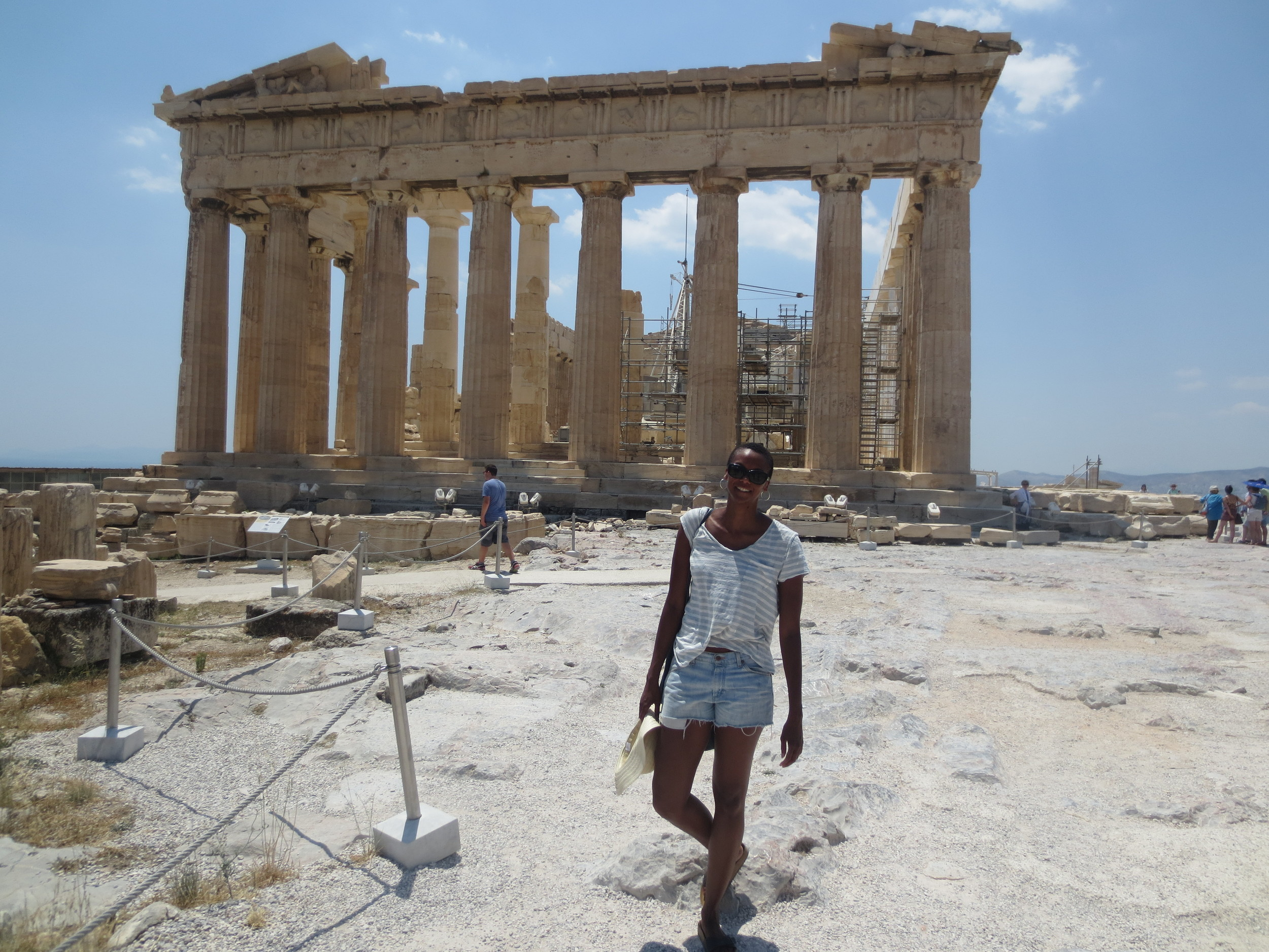 Can't go to Greece without seeing the Acropolis in Athens.