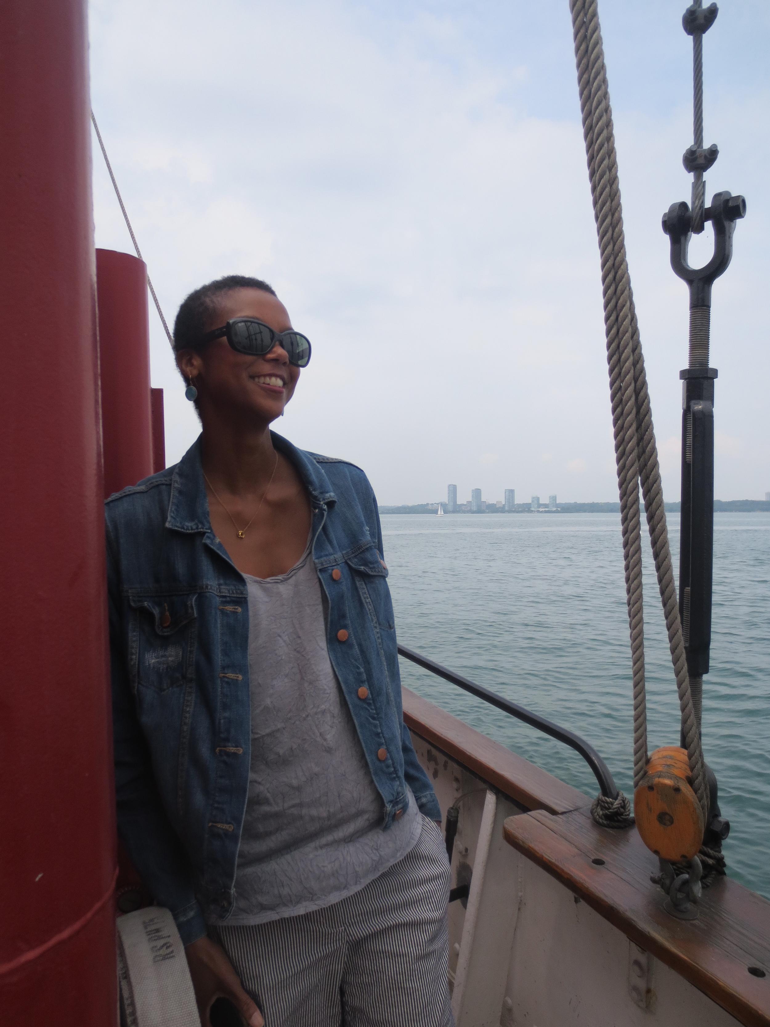 Sailing in Toronto.