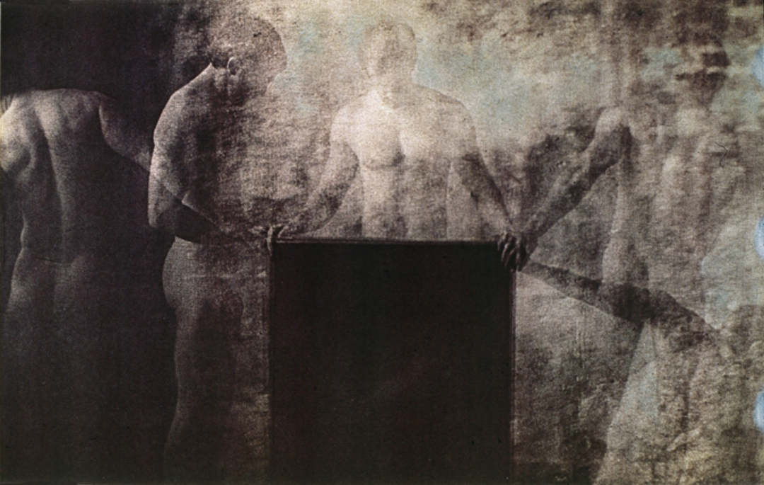 Man and Darkness 1980  Collection: The Rochester Museum of Art, Rochester, N.Y.