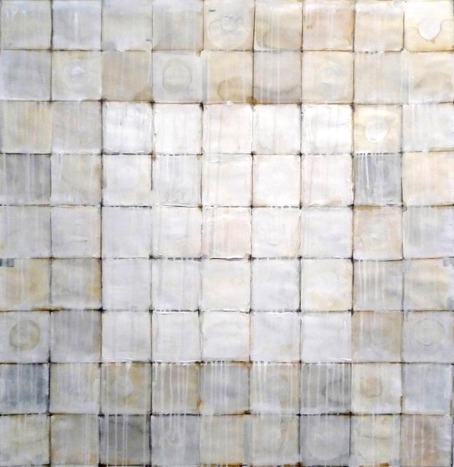 WHITE SQUARE 2015  5' x 5'