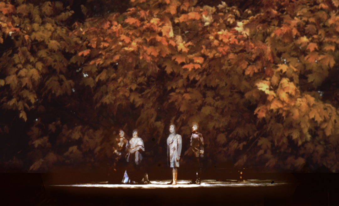 The main characters sing of loss and longing.