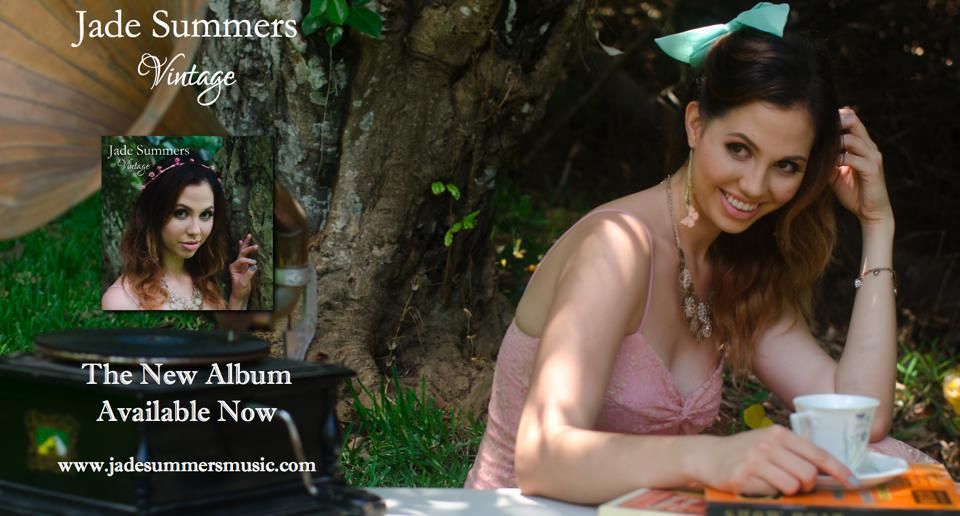 Makeup and Hair for Jade Summers music album.