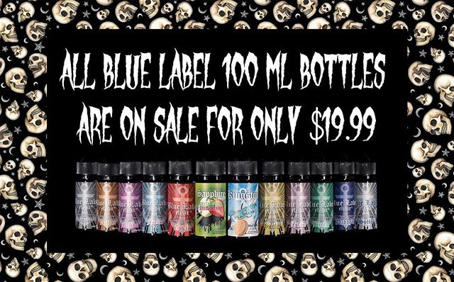 Repost from @thevapourlounge ALL Blue Label Elixir 100mL bottles are on sale for only $19.99!!! THIS WEEKEND ONLY!!! Offer is available online, in store, and over the phone! • • • Phone: (909) 945-1898 1# At Message 8188 Rochester Ave, Suite D Rancho Cucamonga, CA 91730 • • • #thevapourlounge @bluelabelelixir #BlueLabelElixir #vapewithstyle #vapelife #vapedaily #vapeon #vapeporn #vape #vapers #vape #vapenation