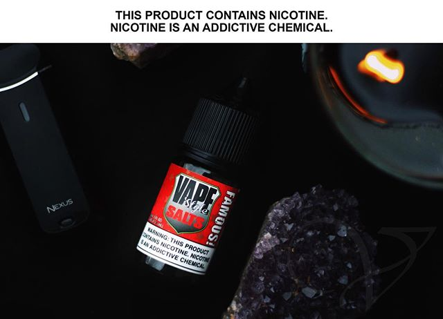 Famous! is now available in SALT NIC!!! Come by @thevapourlounge and get some!!! Available in 30mg and 45mg nicotine! • • • Famous! is an energizing blend of strawberry, pineapple, and watermelon backed by a subtle kick of citrus. • • • Contact us! Phone: (909) 945-1898 1# At Message 8188 Rochester Ave, Suite D Rancho Cucamonga, CA 91730 • • • #thevapourlounge #vapestyle #vapewithstyle #vapelife #vapedaily #vapeon #vapeporn #vapehead #vapehard #famous #vape #socalvape #socalvapers #saltnicotine #saltnicjuice
