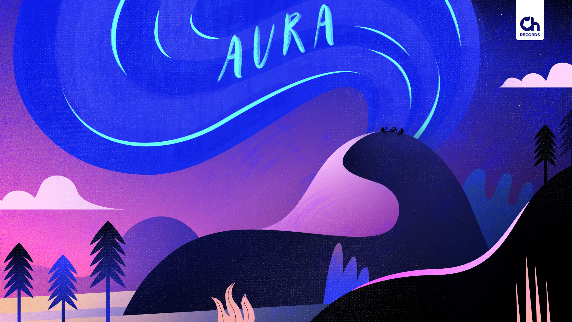 Chillhop-Aura-sofia-varano-illustration