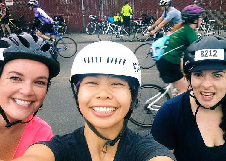 Girl bike gang!
