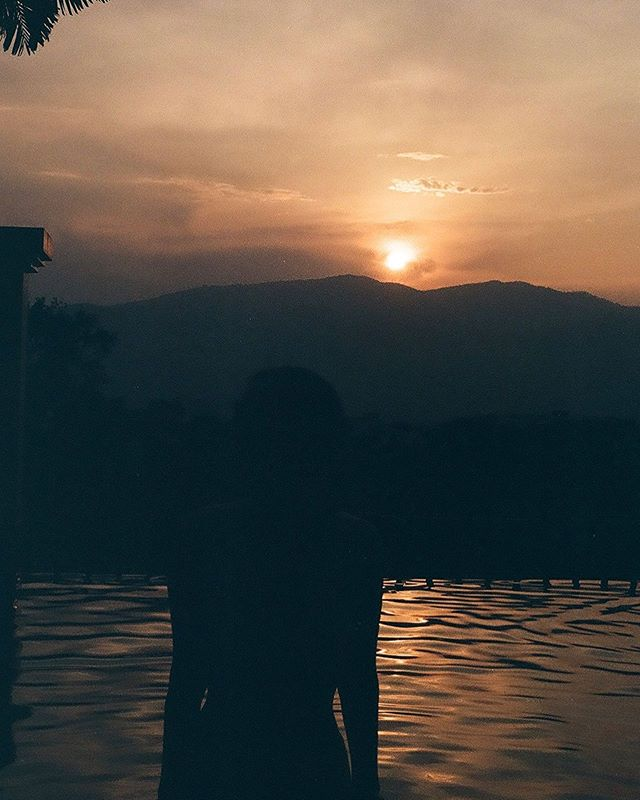 "Developed my film and I'm obsessed 😍""Last day by the poolside in our hotel in Chiang Mai, Thailand — 5/20/19""🌅"