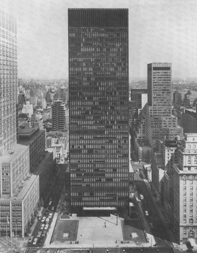 Mies van der Rohe - Seagram Building