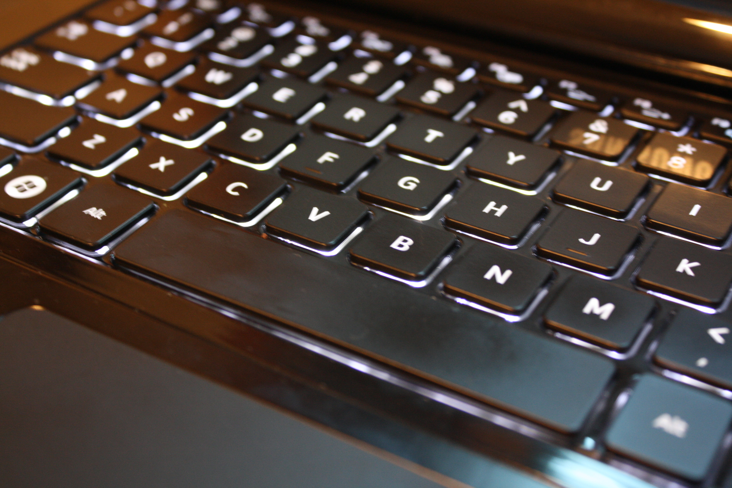 Backlighting and chiclet-style keys make me happy.