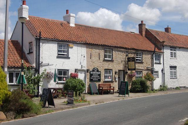 The Green Dragon, Exelby