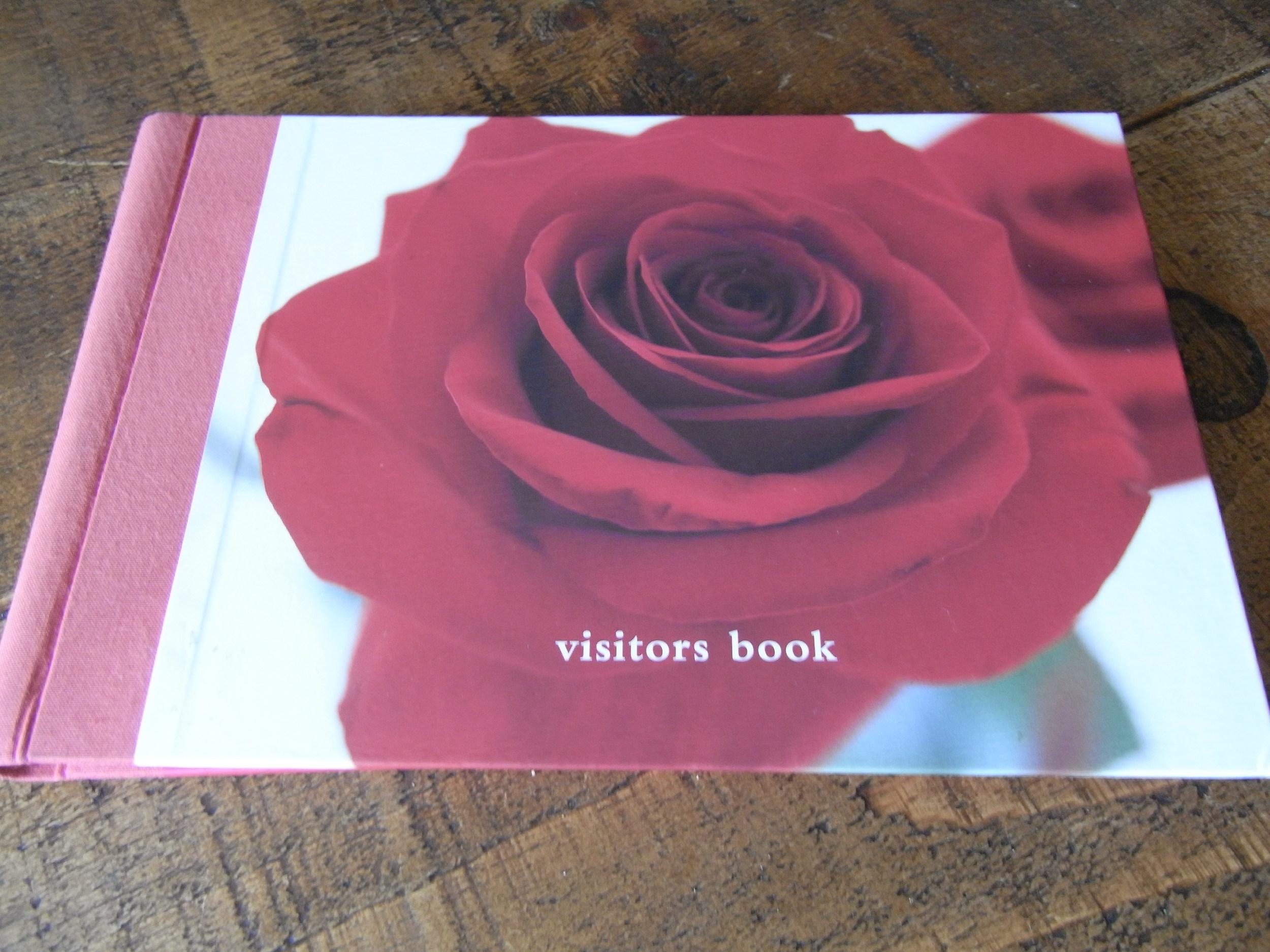 Visitor Book High Grange Holiday Cottages