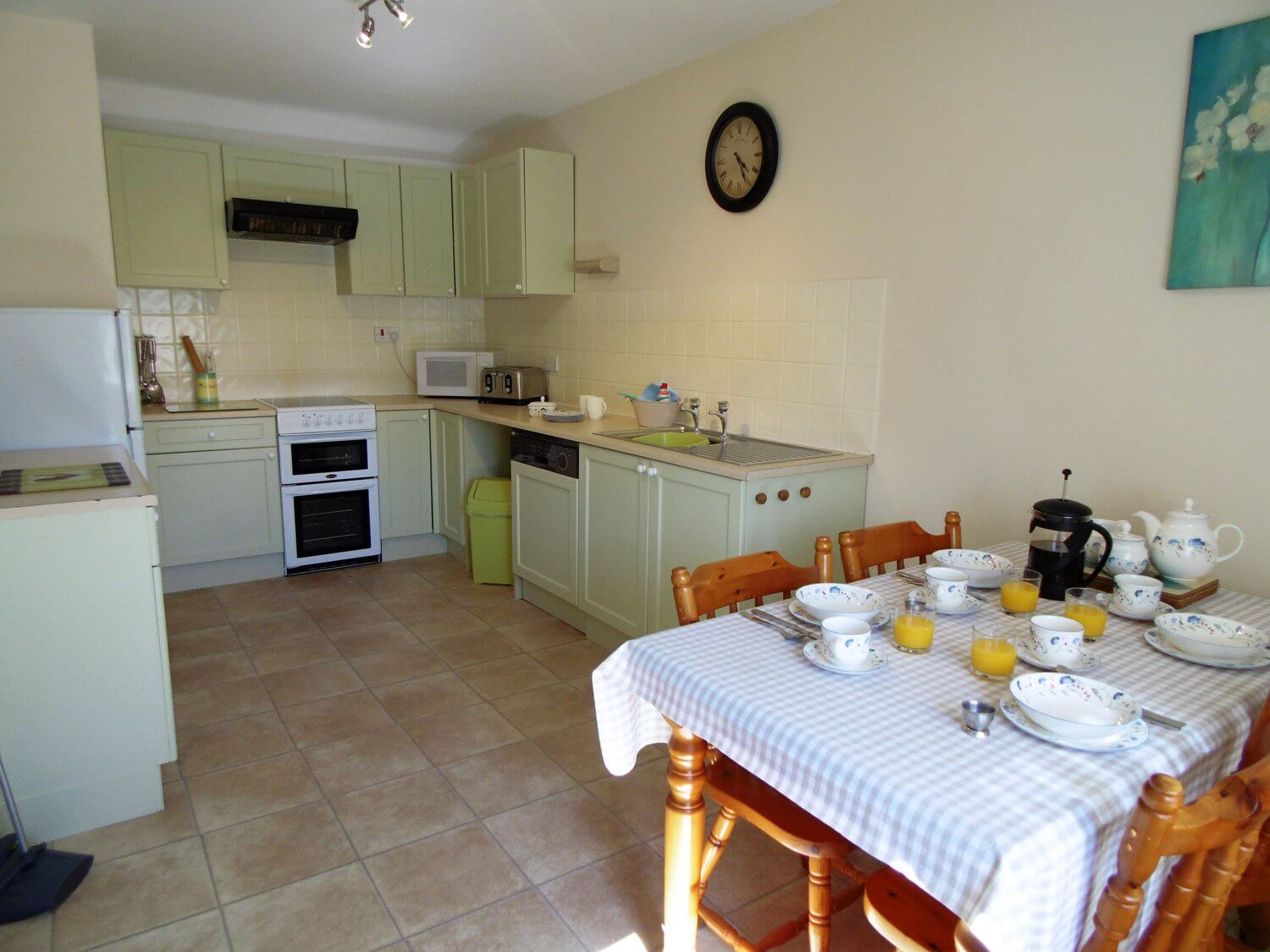 Two and three bedroom cottages - Larger cottages for families and friends.