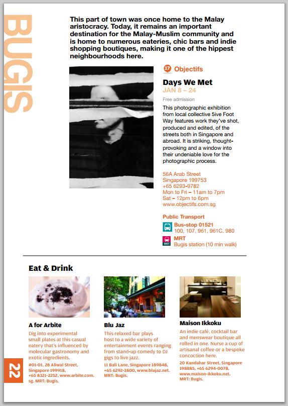 Singapore Art Week Guide