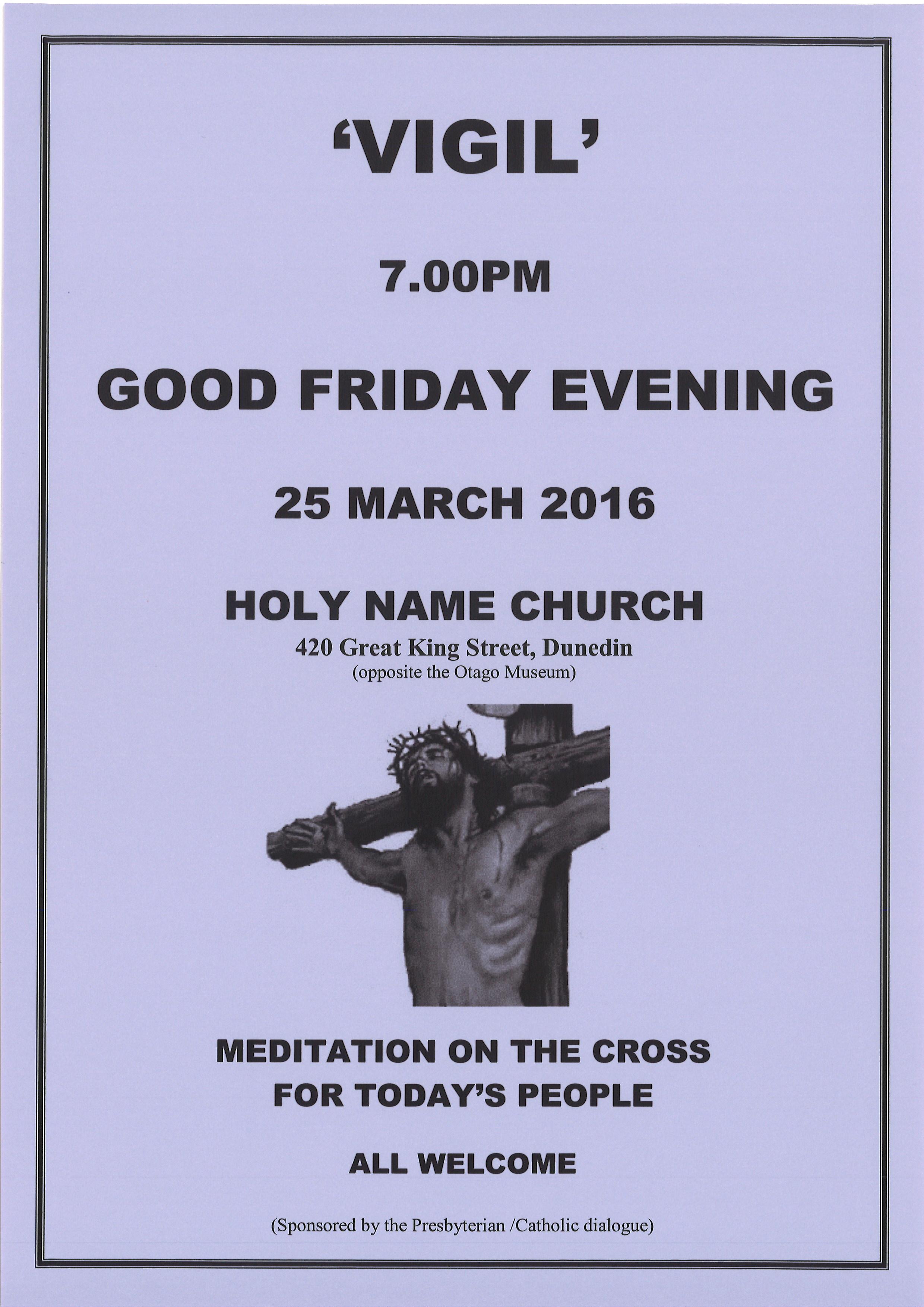 Good Friday Vigil
