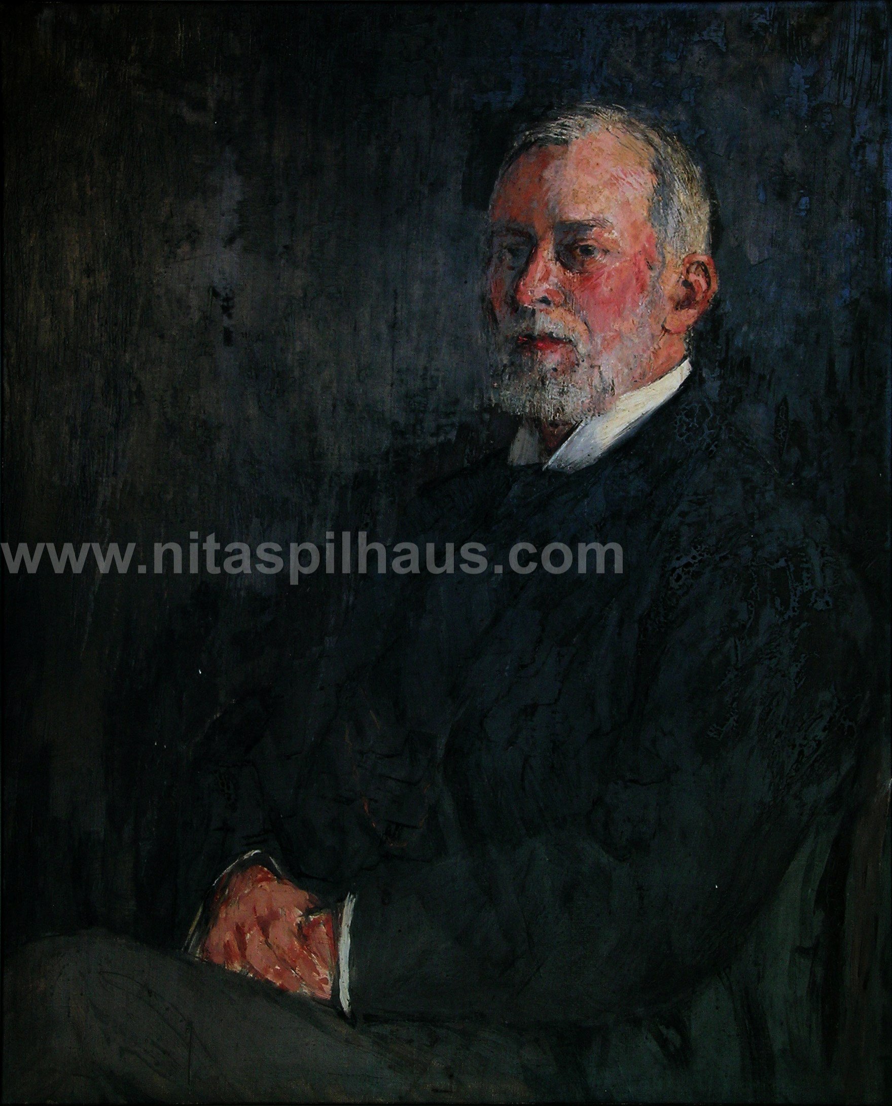 Portrait of AW Spilhaus, Oil on Canvas 83 x 67 Collector 2