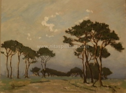 Trees Oil on [canvas] 32x28 Collector 13