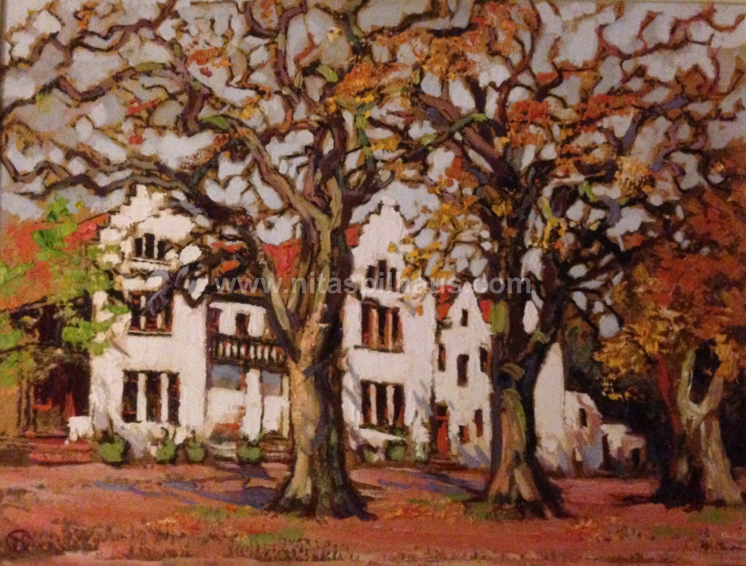 View of Hohenort from the front, Oil, [  ], Collector 40