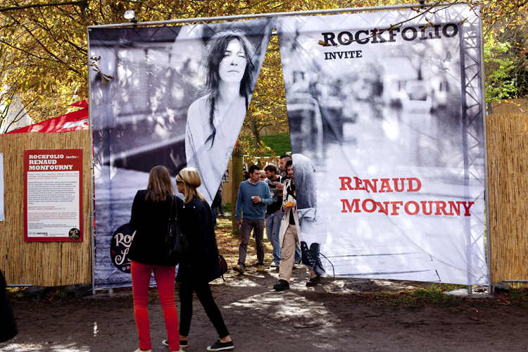 """Rockfolio invite Renaud Monfourny"" - ROCK EN SEINE - Domaine National de Saint Cloud - FRANCE - 2011"