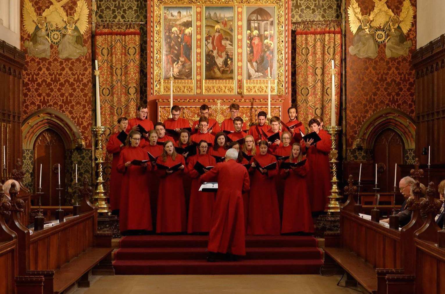 Choir of Queens' College, Cambridge