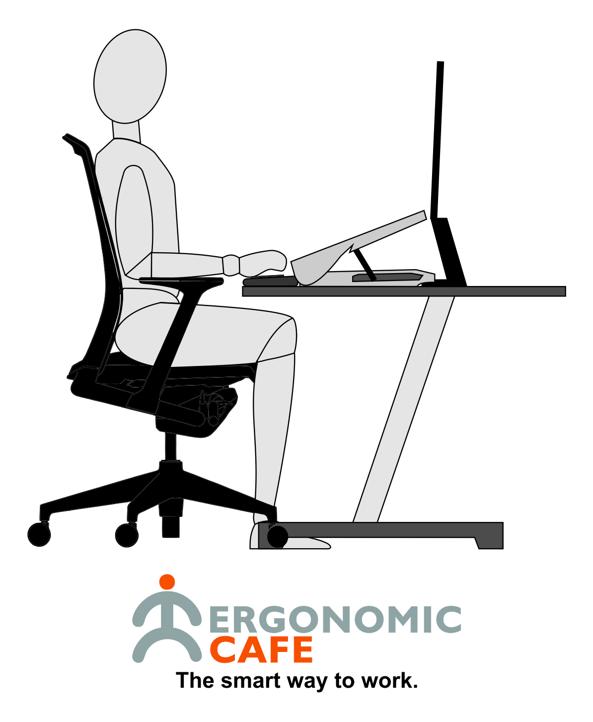 Using our in-line copy or document holders can significantly improve your posture as well as increasing efficiency.