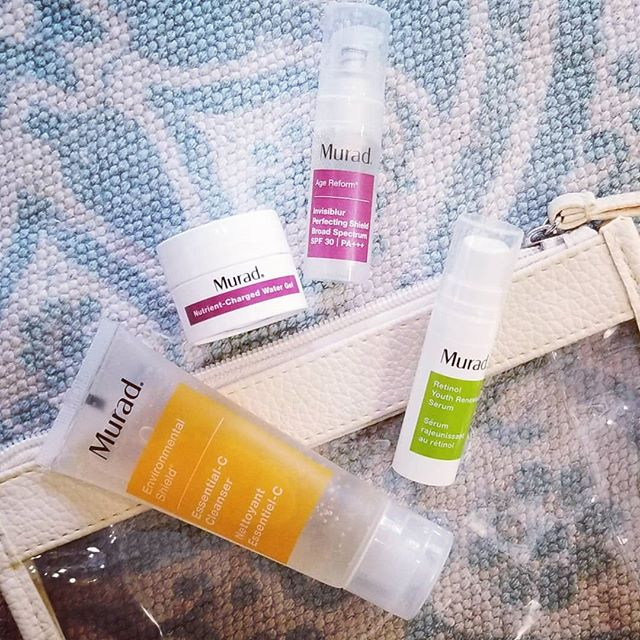 Traveling next week? Stop by @spaonmain to stock up on your @muradskincare favorites and get this TSA friendly clutch filled with vacation favorites! (With a purchase of $75 or more) . #skincare #travelapproved #murad #stressless #eldoradoar #shoplocal
