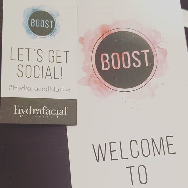 Loving the @hydrafacial Boost event! Bring back lots of great info! #hydrafacialnation #cyadowntown #eldoradoar #arkansasmedspa #arkansasspa