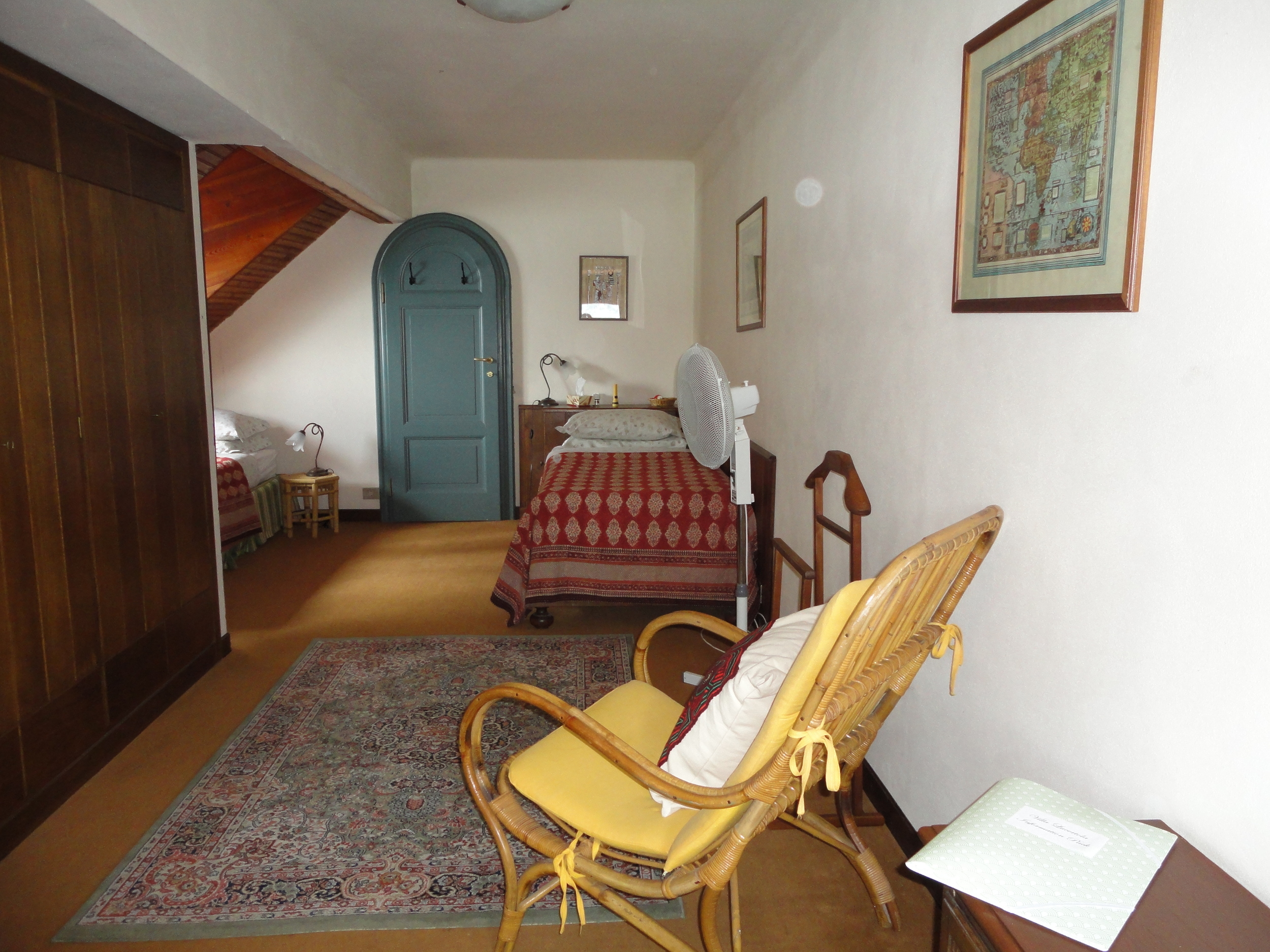 Attic triple bedroom