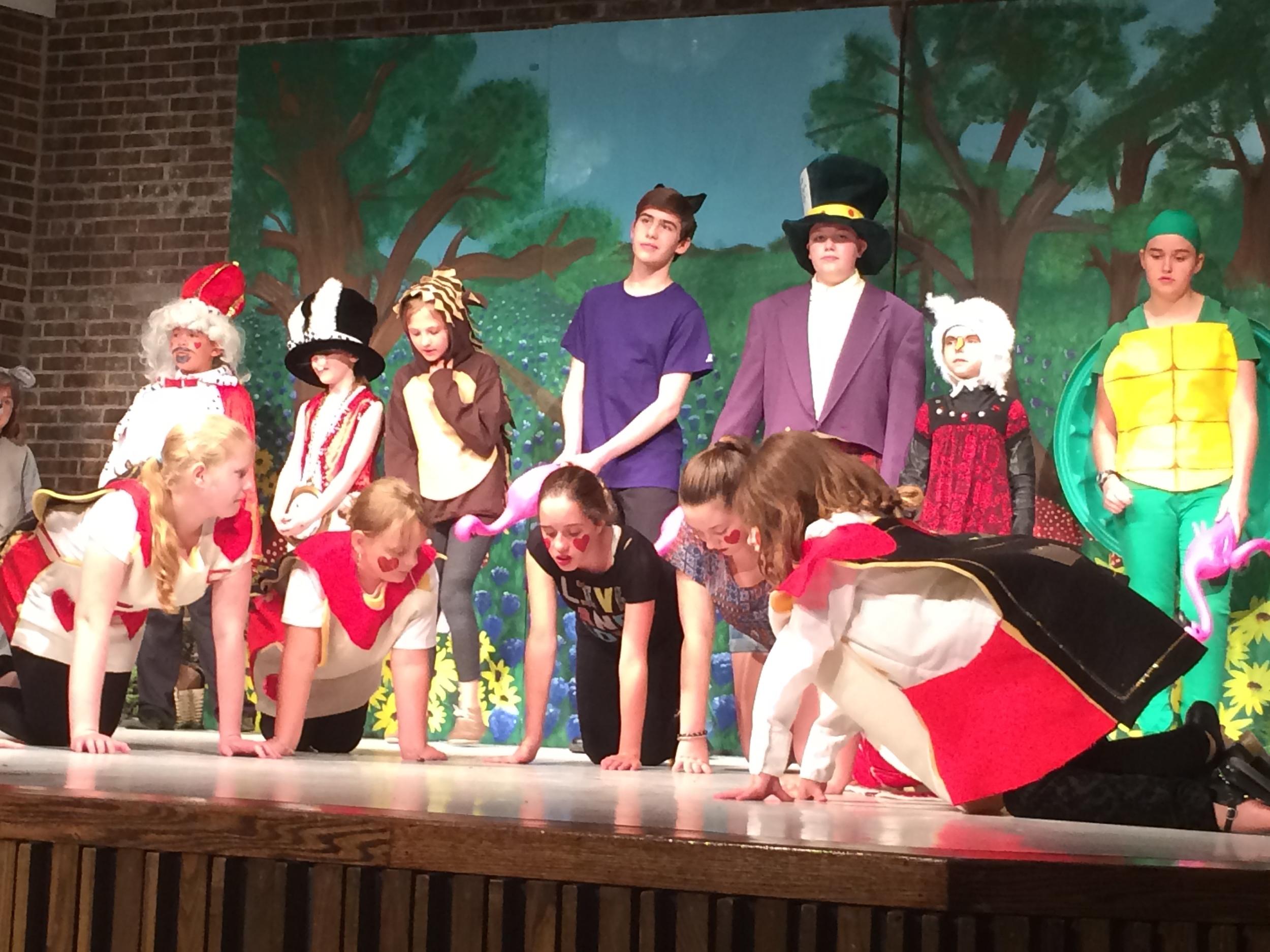 """Alice in Wonderland"" - The Musical"