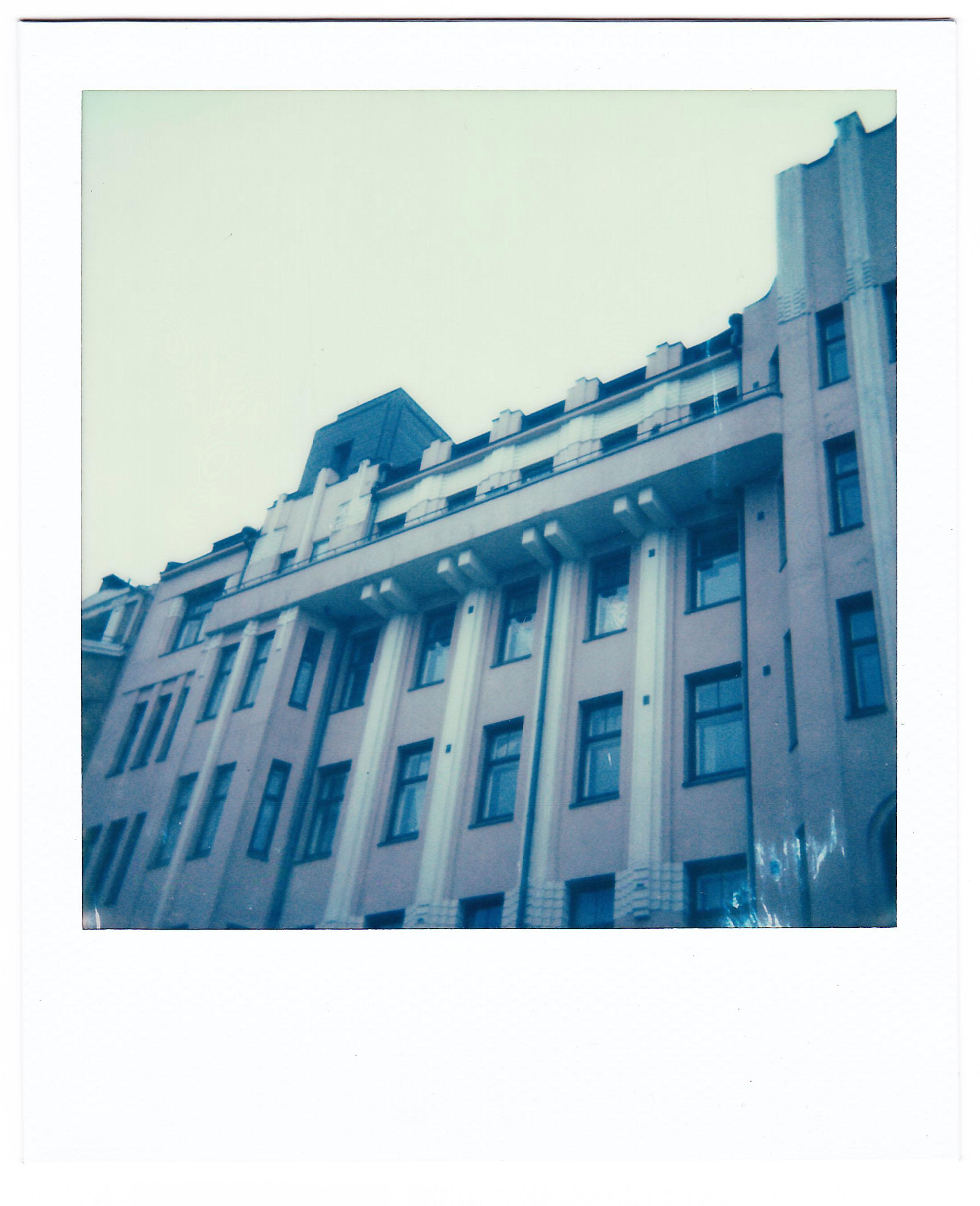 Pink Building, Kallio.