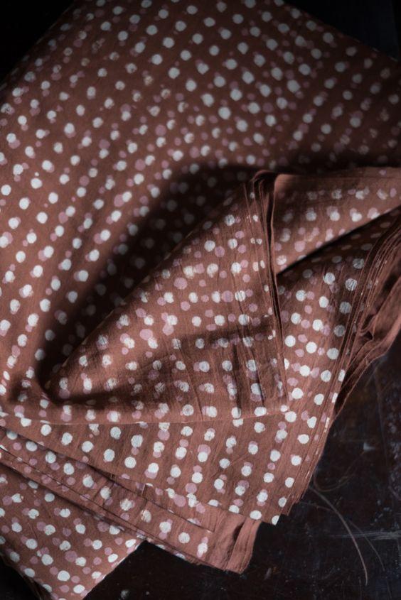 Fabric from Merchant & Mills.