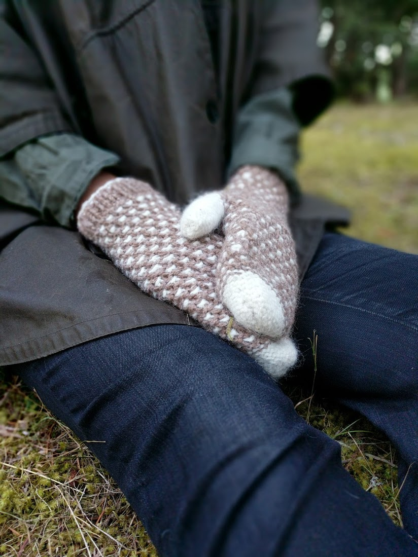 Bedwell Mittens, photography by Celeb Bayers.