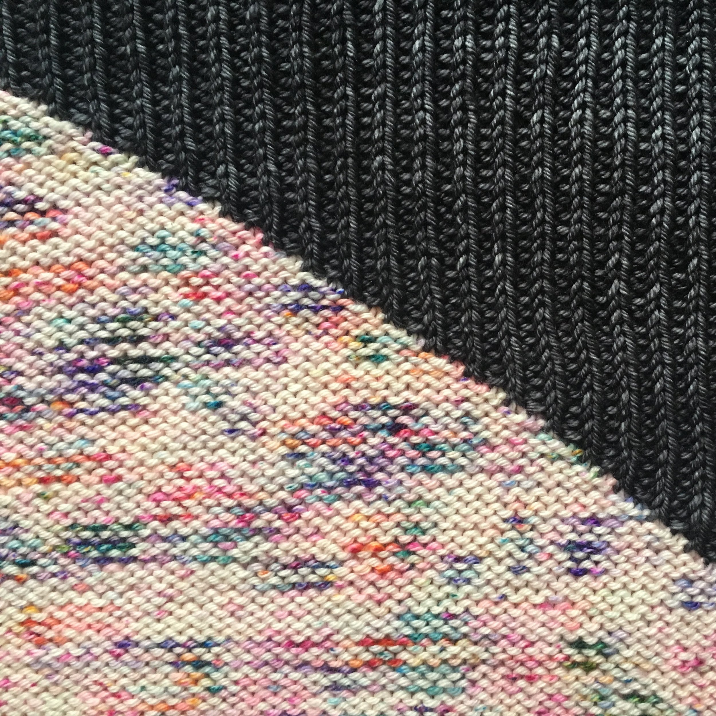 Right side of sweater.