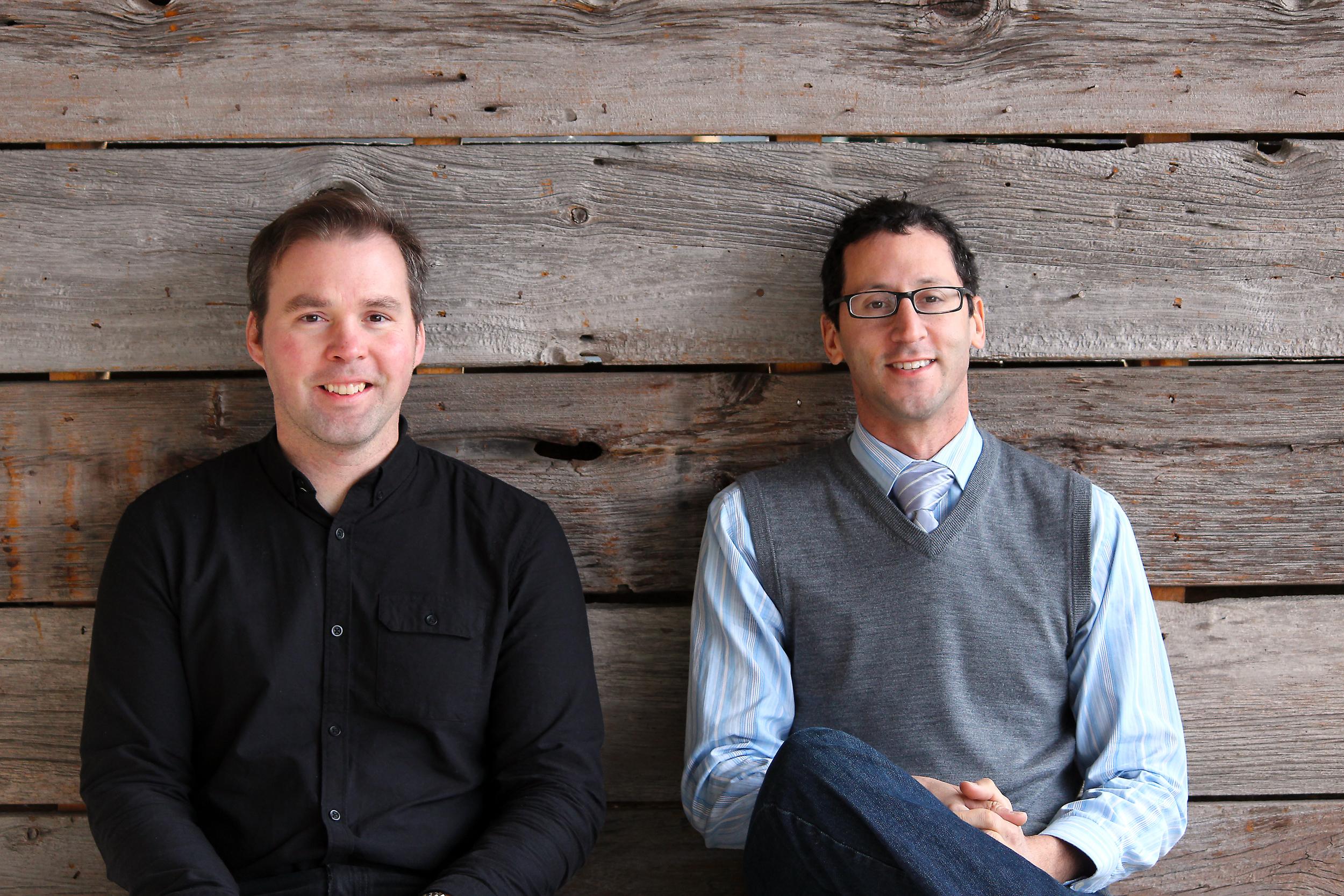 Alex Bartlett, O.A.L.A. (Left) and Robert Boltman, O.A.L.A. (Right)