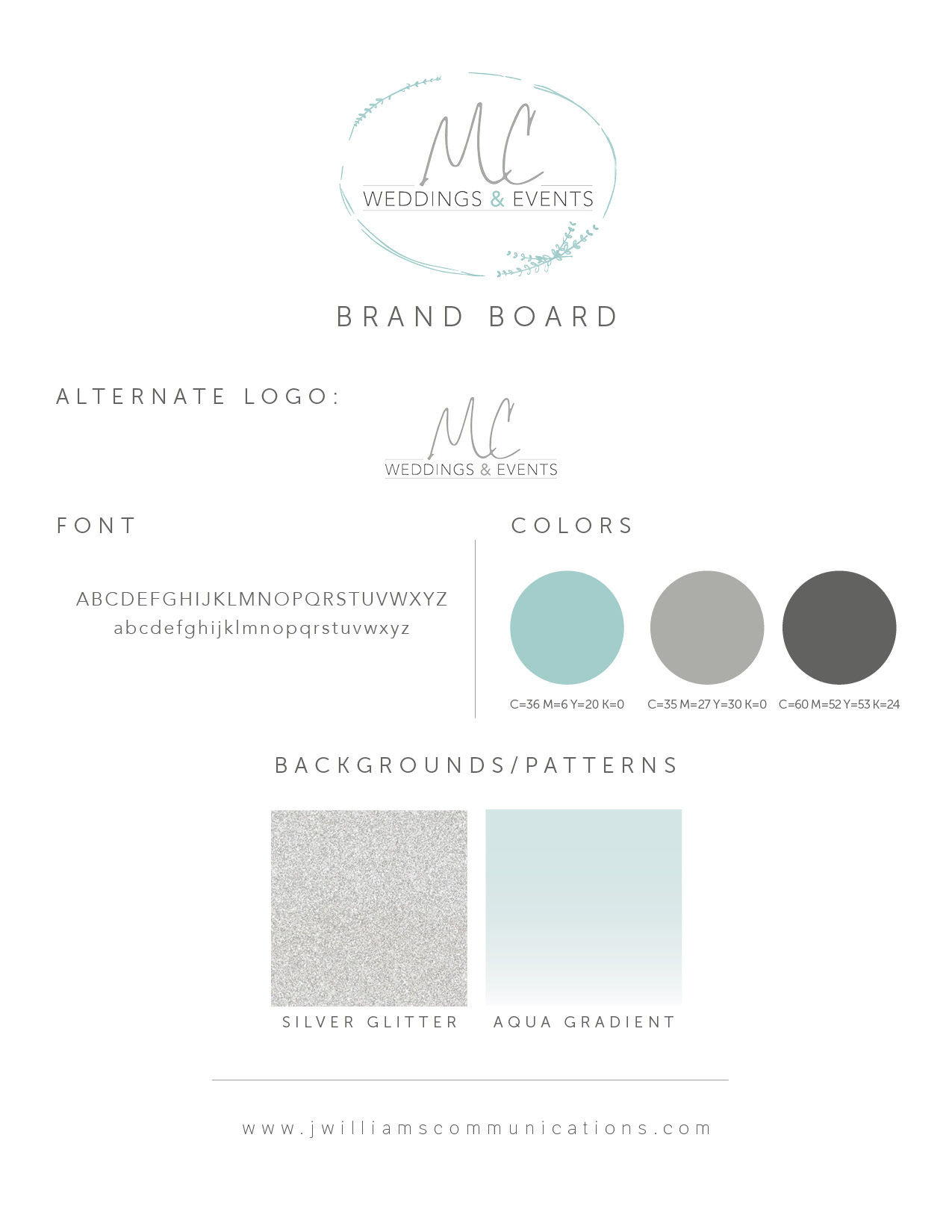 Meagan Crain Weddings and Events Tucson brand board and logo for web.jpg