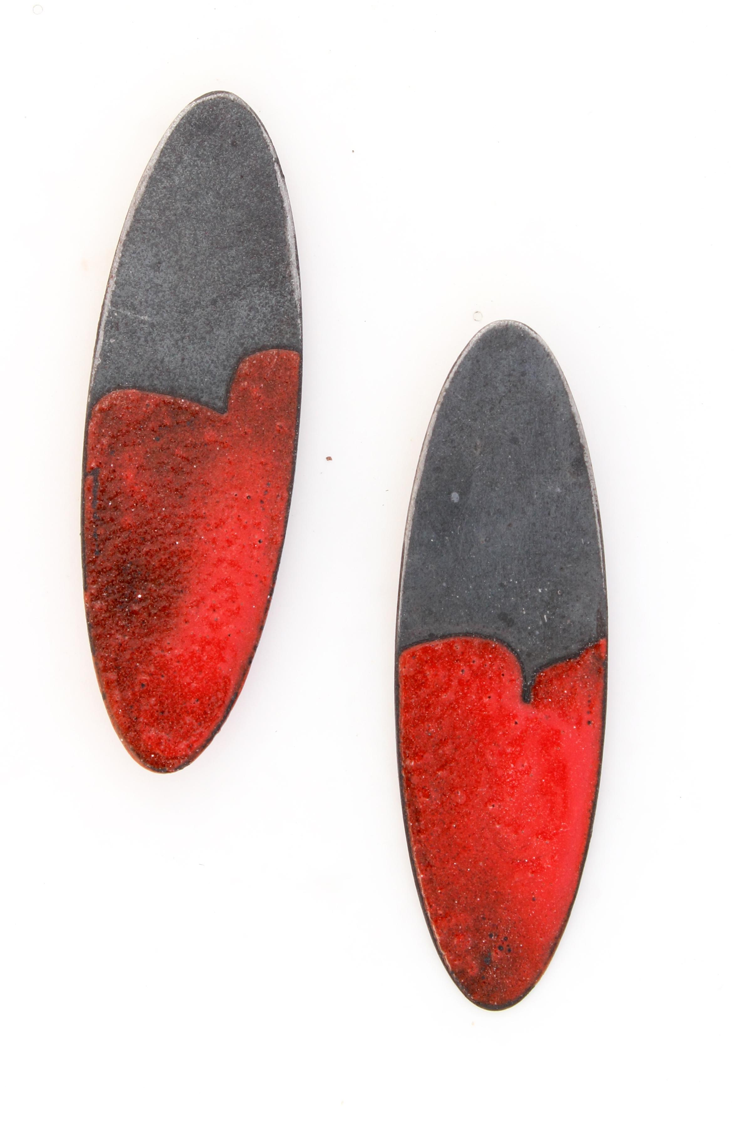 Red Oval Dip Earrings.jpg