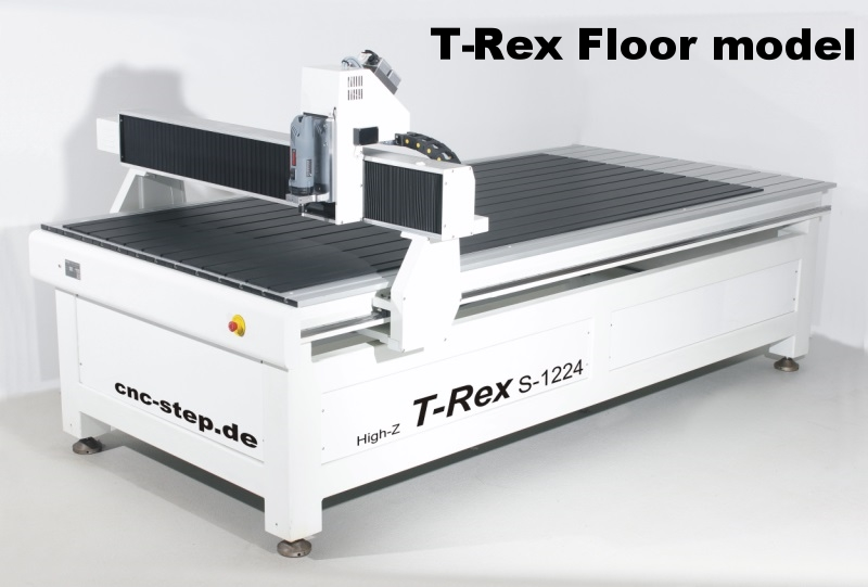 T-Rex floor standing CNC gantry routers