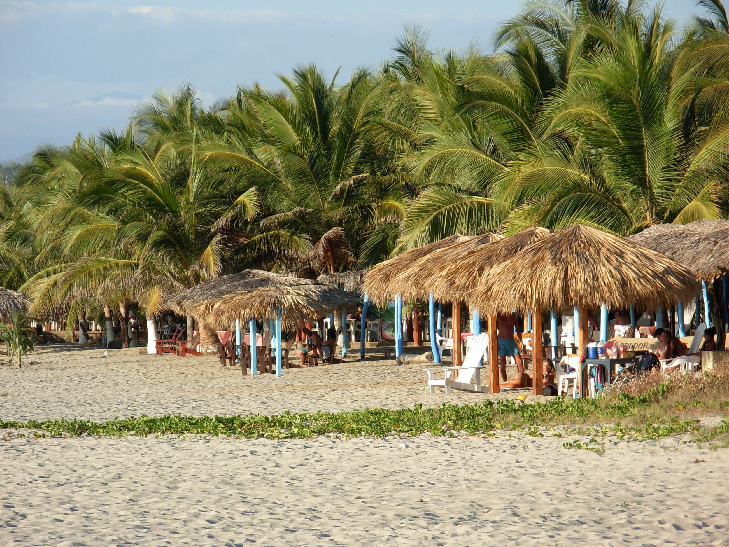 "The beach ""La Punta de Zicatela"" -- a 2 minute walk from your accommodations"