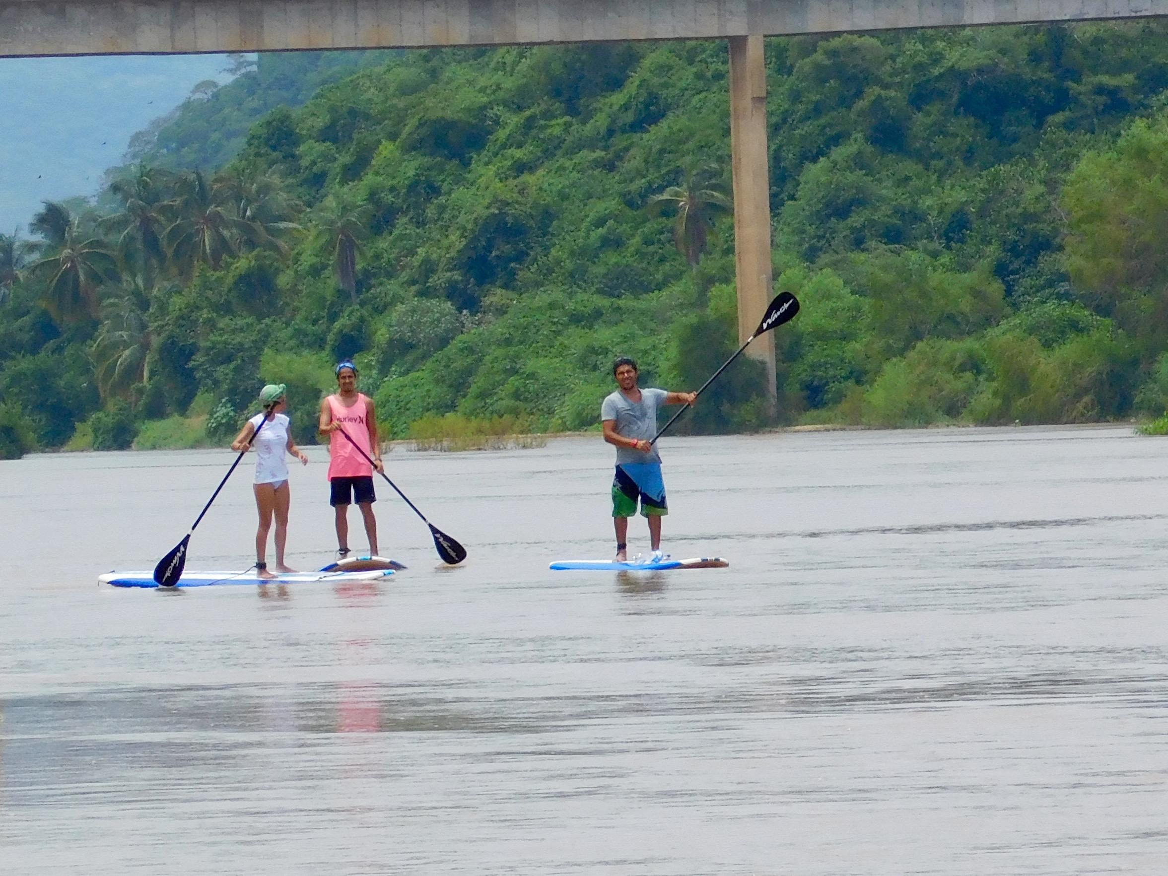 River SUP Tour in Puerto Escondido Oaxaca Mexico